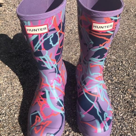 Hunter x Disney Boots
